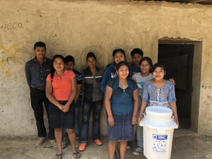 Water Filtration Donation